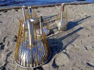 5 waterphones made by richard waters